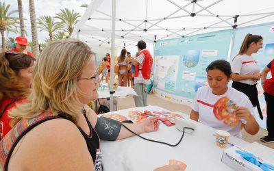 La concejalía de Sanidad y Cruz Roja organizan la campaña 'Mediterrani deixa que et cuide' en l'Albir