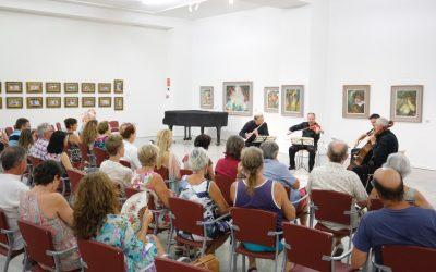 G. Nova y Beaux Arts String llevan la música de Mozart a la Fundación Frax con el ciclo 'Concerts a la lluna de l'Albir'
