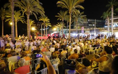 La pasión del flamenco llenó la zona del Ancla de l'Albir