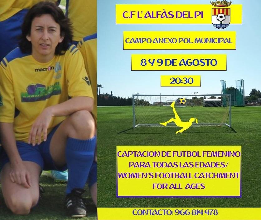 El club de fútbol l'Alfàs apuesta por el  fútbol femenino y se abre a la admisión de jugadoras de la comarca .