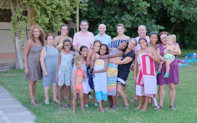 L'Alfàs del Pi despide a los niños del programa Vacaciones en Paz