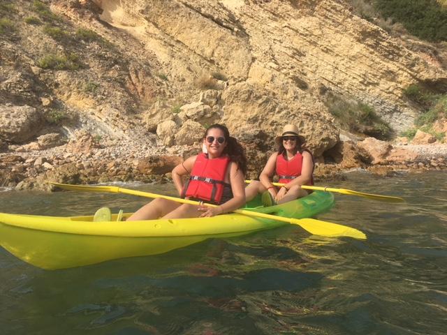 L'Alfàs del Pi cierra la campaña de salidas en kayak con un nuevo éxito de participación