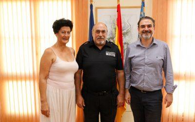 José Rivas Ferrer asume la jefatura de la Agrupación Local de Protección Civil de l'Alfàs