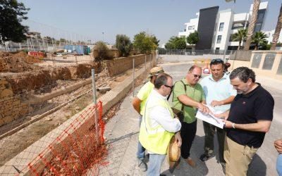 L'Alfàs construye un puente en la calle San Miguel para descongestionar el tráfico en la entrada de l'Albir
