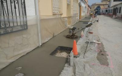 Última fase de las obras del barrio noruego de l'Alfàs