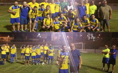 El CF l'Alfàs del Pi fue el ganador del torneo amistoso triangular , Villa de l'Alfàs.