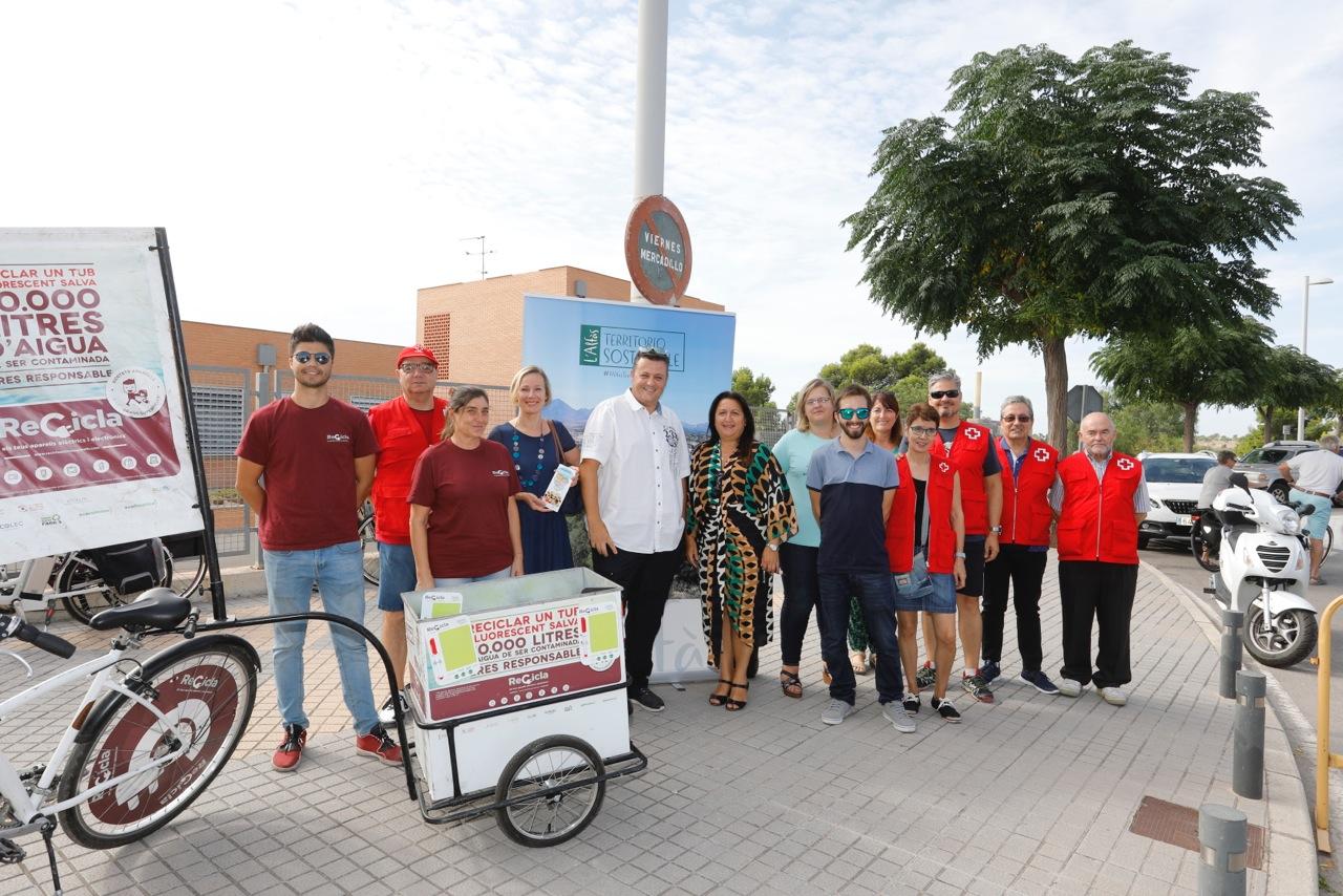L'Alfàs participa en la campaña 'Recicla tus aparatos' de la Generalitat Valenciana