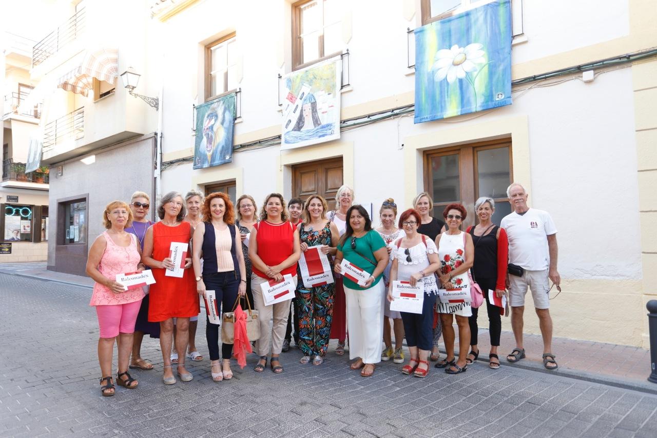 """La exposición """"Balconades"""" ya puede visitarse en l'Alfàs del Pi"""