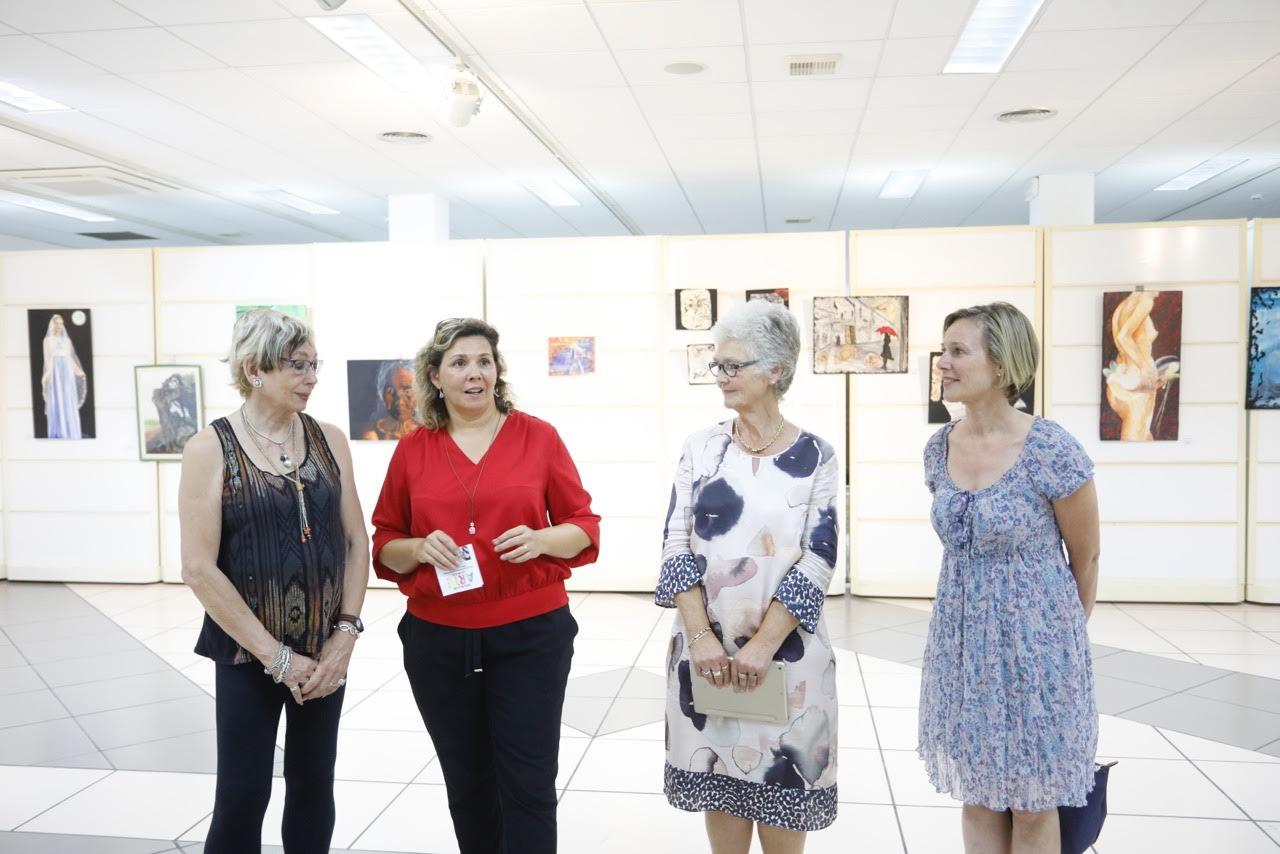 Isabel Marquina y Brigitte Volster exponen en la Casa de Cultura de l'Alfàs