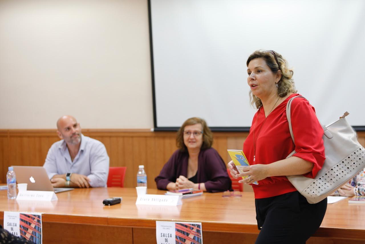 La escritora bonaerense Clara Obligado presentó en l'Alfàs su novela 'Salsa'