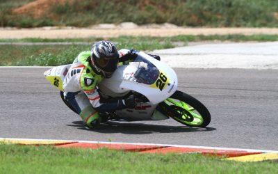 El piloto Jorge Berenguer está a punto de ganar el campeonato de velocidad de  motociclismo de la Comunidad Valenciana.