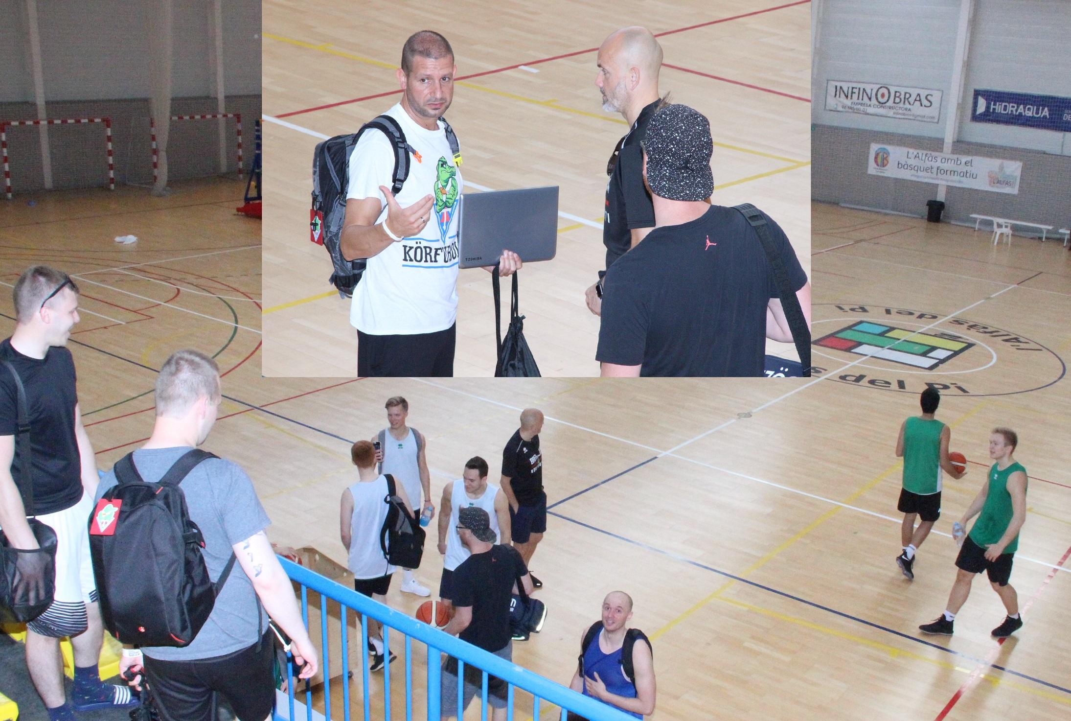 Otro equipo islandés de Baloncesto el  Breiðablik elige el pabellón Pau Gasol para empezar la temporada.