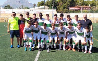 C.D Barrio Obrero y  Elche C.F fueron los ganadores de los  tres  torneos triangulares que se celebraron el pasado fin de semana .
