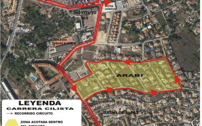 El Ayuntamiento de l'Alfàs informa las calles donde no se puede aparcar este sábado