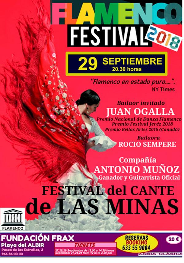 Flamenco en estado puro este sábado en la Fundación Frax de l'Albir