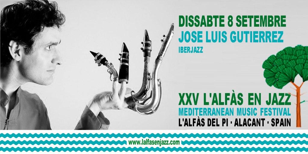 José Luis Gutiérrez IBERJAZZ en concierto este sábado en l'Alfàs