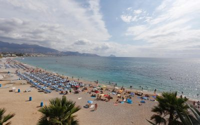 La calidad de las aguas de la playa de l'Albir es excelente