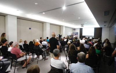 Presentación de la II Jornada XarxaSalut en el  Sha Wellness de l'Alfàs