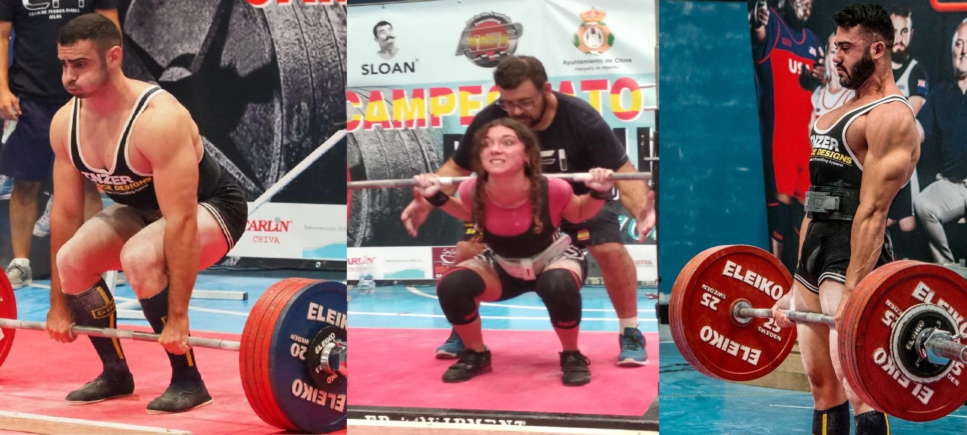 Gemma Noval y Ramón Pascual destacan en el Campeonato de España Powerlifting Raw.