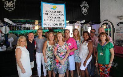 El Voluntariado Social de l'Alfàs recauda más de 500 euros en una fiesta solidaria