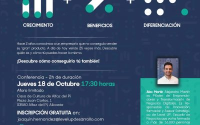 L'Alfàs acoge una charla para incrementar resultados en pequeñas empresas
