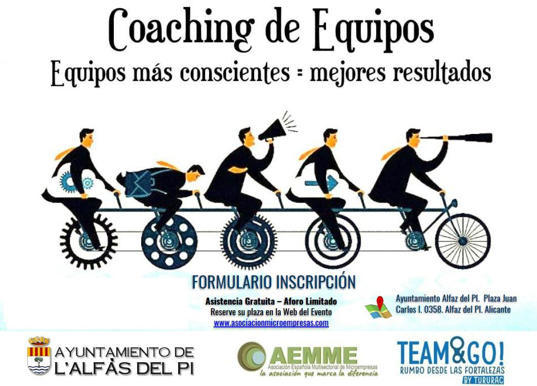 Jornada formativa sobre coaching de equipos en la Casa de Cultura de l'Alfàs