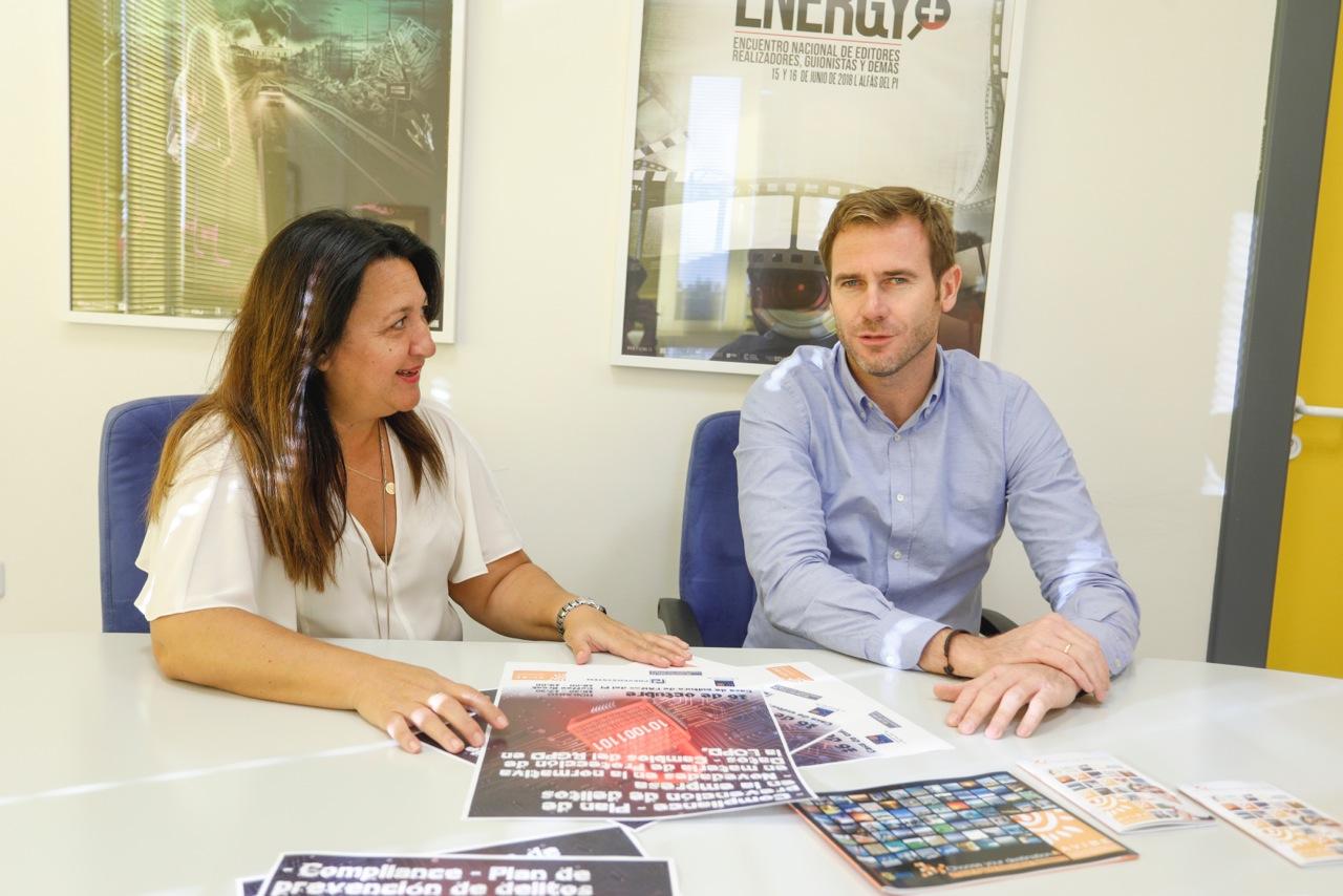 El Ayuntamiento de l'Alfàs y AVIBE organizan una charla sobre prevención de delitos en la empresa