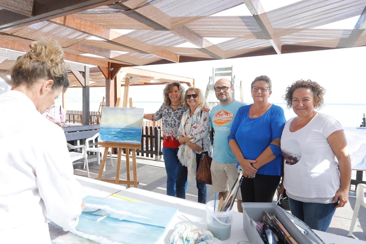 L'Albir acogió el VIII Encuentro de Pintores de Artavant