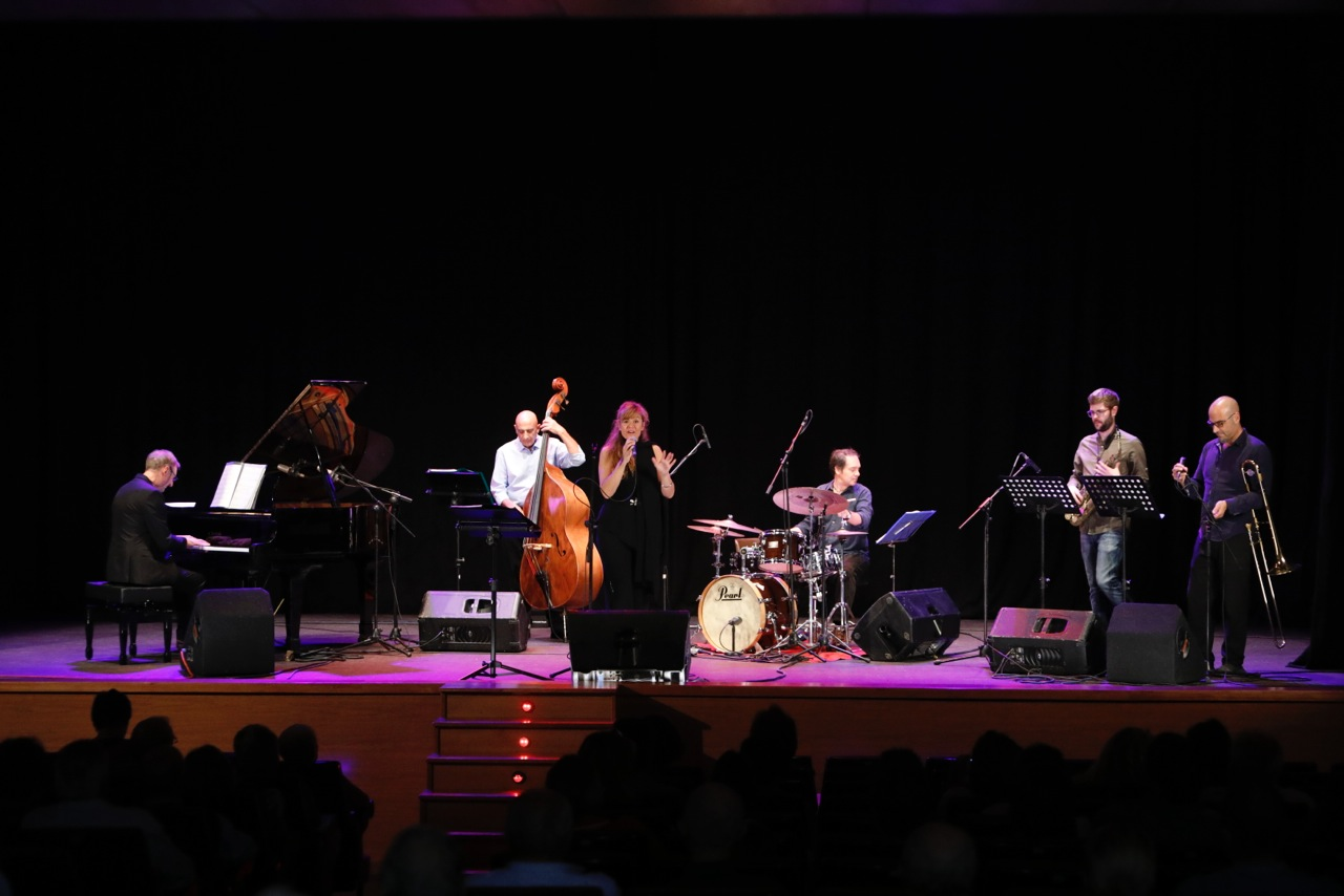 Arantxa Domínguez y Ricardo Belda pusieron el broche final al XXV Festival L'Alfàs en Jazz