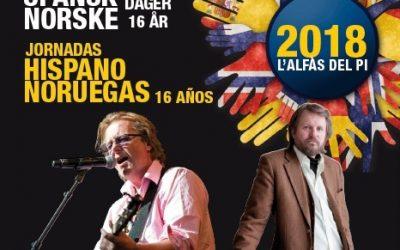 El próximo lunes arrancan las Jornadas Hispano Noruegas de l'Alfàs del Pi