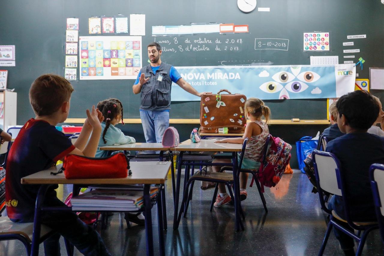 El Consorci Mare desarrolla una campaña de educación ambiental en los colegios de l'Alfàs