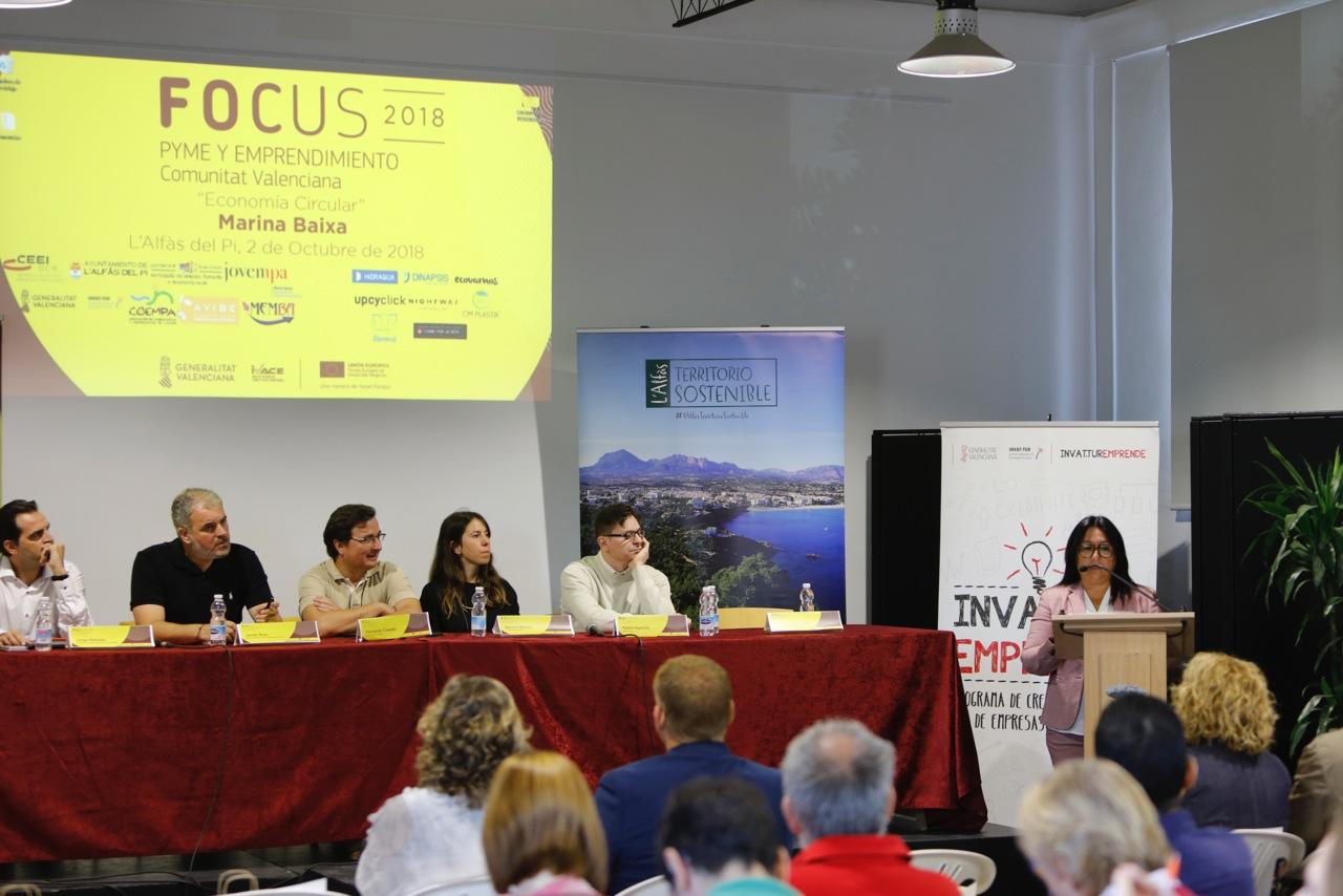 Empresarios debaten en l'Alfàs sobre las oportunidades de emprendimiento de la economía circular