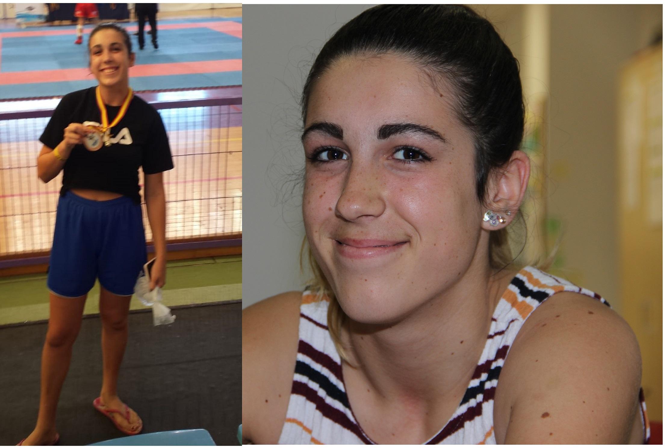 Irene Barkero  la Subcampeona del mundo y Campeona de España de Muai Thai 2018, ha conseguido un bronce en el Open de España.
