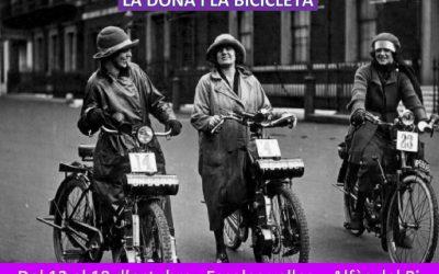 La exposición 'La dona i la bicicleta' llega este viernes al Espai Cultural Escoles Velles