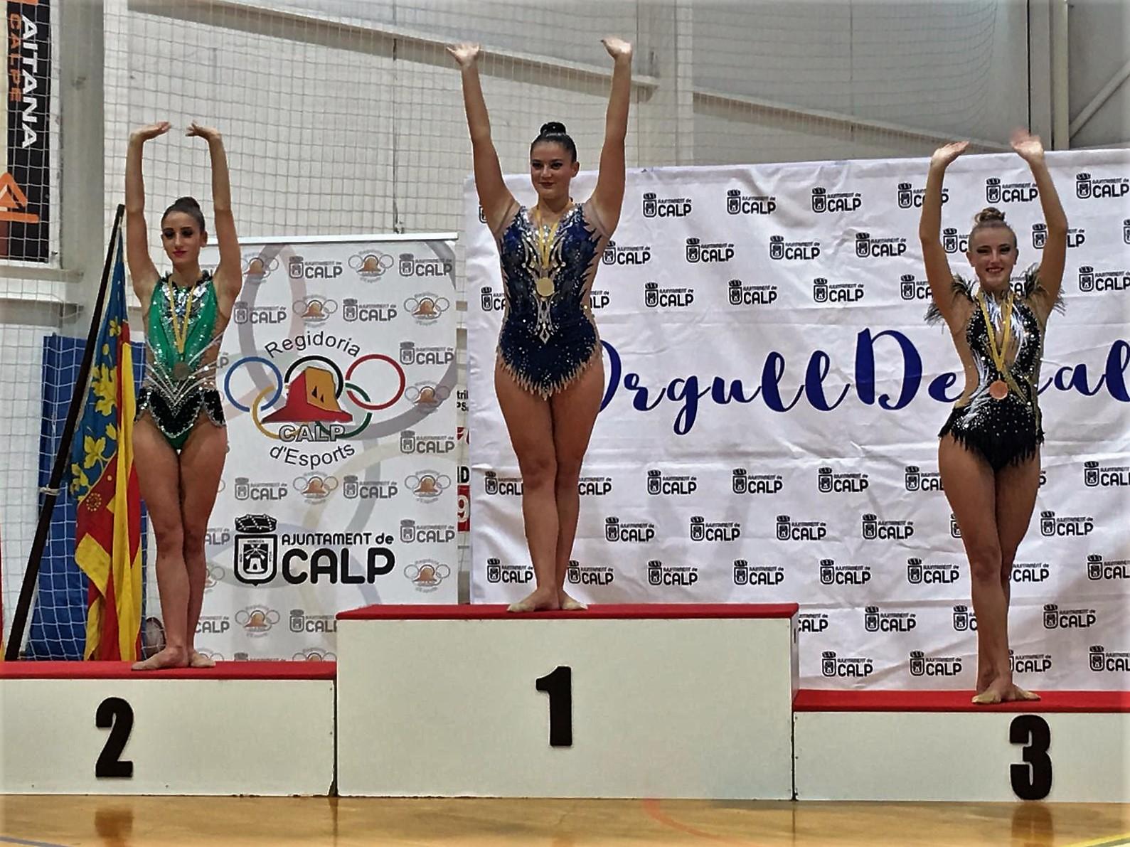 Sandra Alberola queda primera en el de la provincia y a dos décimas de acceder al campeonato nacional.
