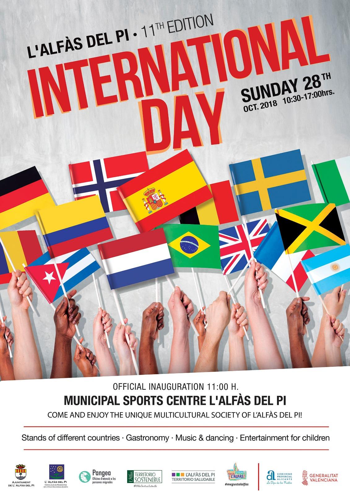 L'Alfàs celebrará el domingo su XI Día Internacional