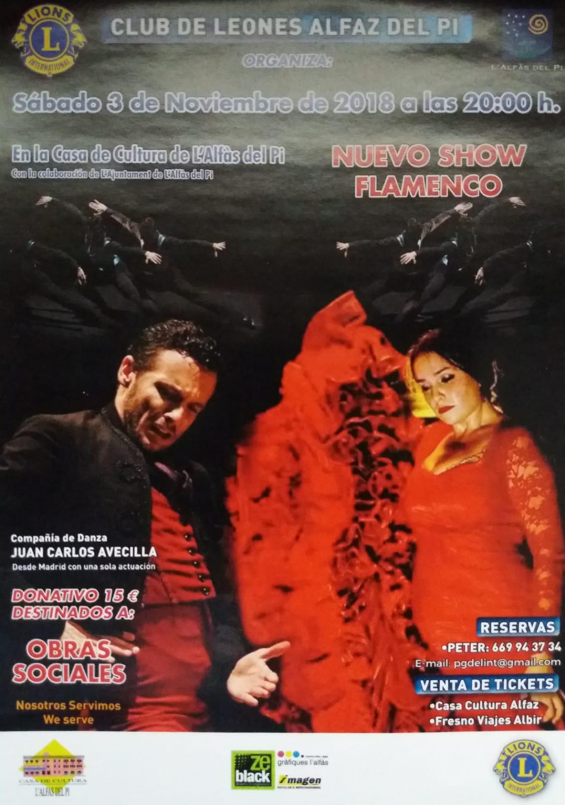 La Casa de Cultura acoge un recital de flamenco con fines benéficos