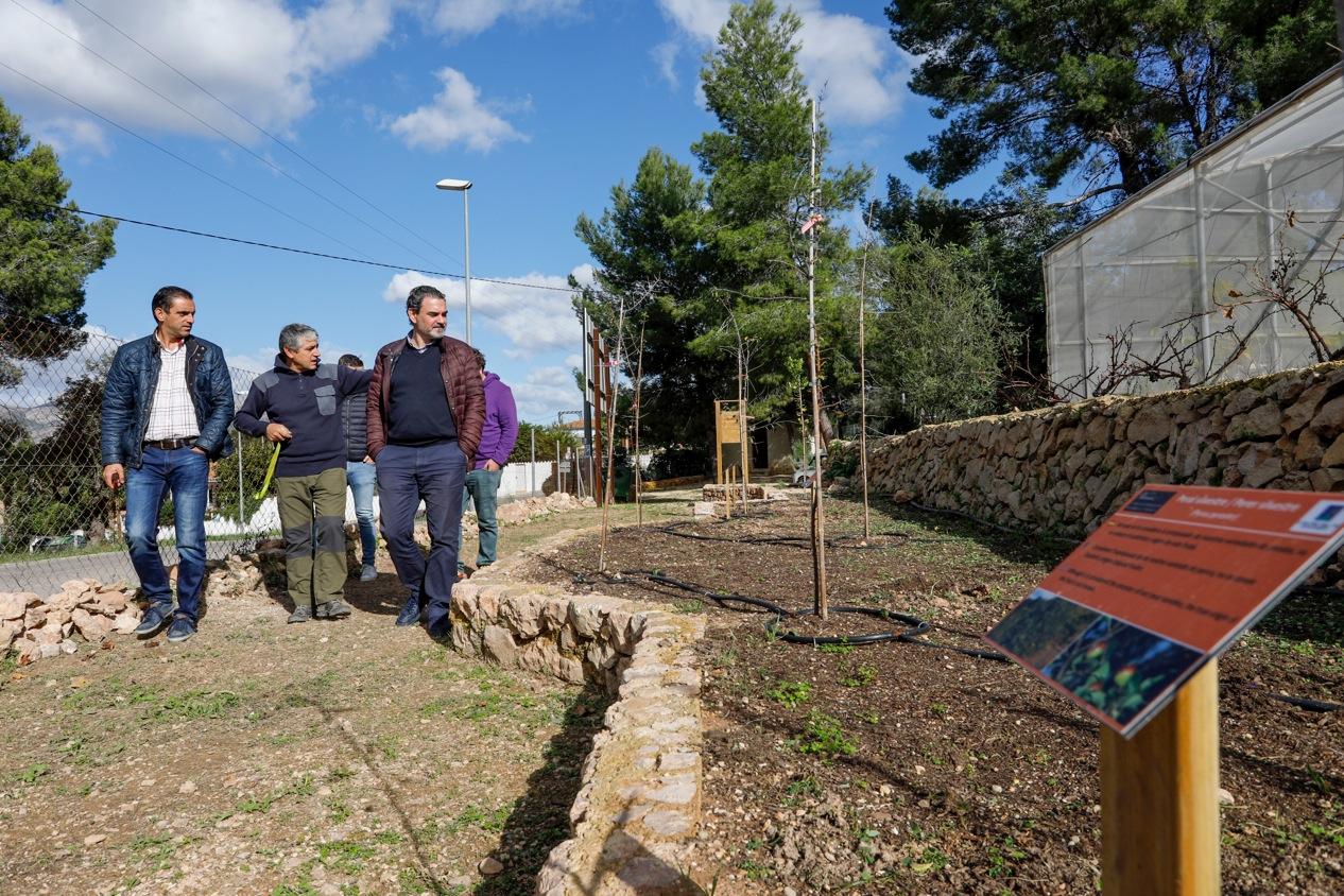 El CIPM Los Carrascos estrena un nuevo itinerario interpretativo y mejora su panelización