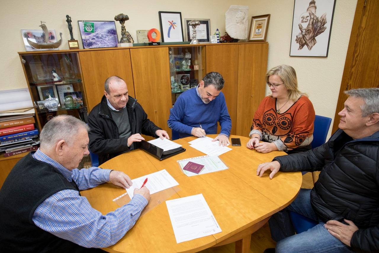 Remar y l'Alfàs del Pi renuevan su vínculo de colaboración