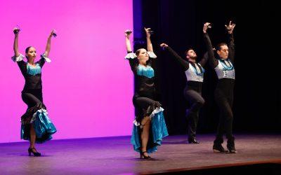 El Club de Leones de l'Alfàs del Pi llevó el mejor flamenco a la Casa de Cultura