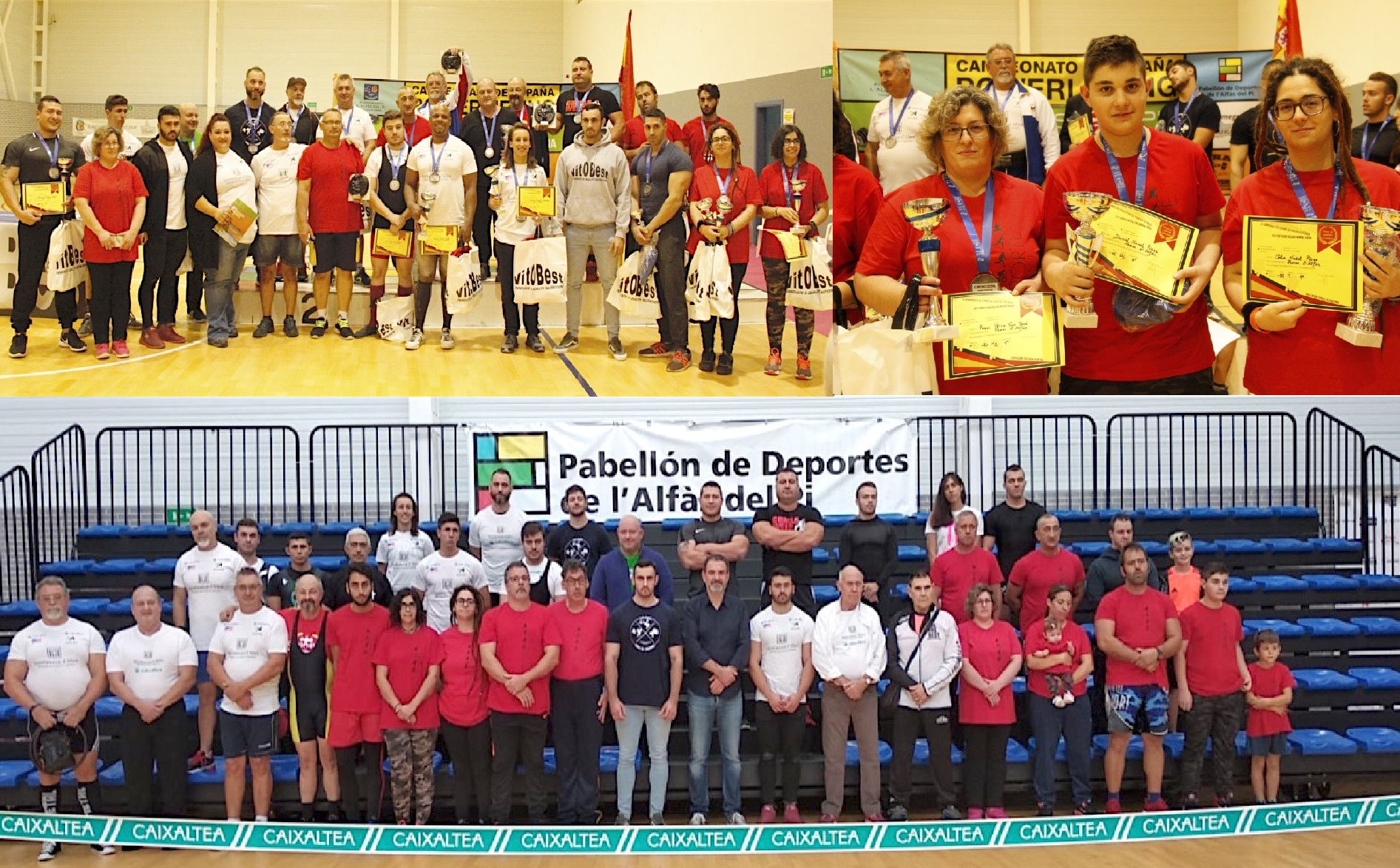 El equipo AFA de la Marina Baixa se proclama campeón de España de Fuerza y Potencia