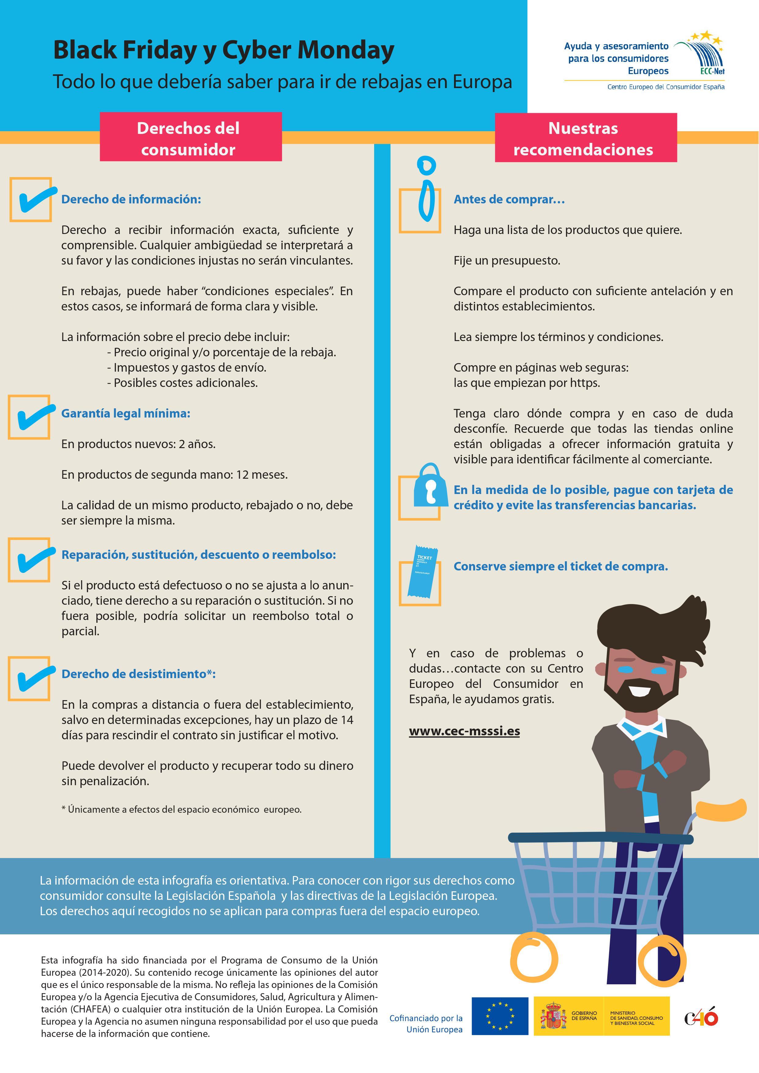 La OMIC de l'Alfàs del Pi recuerda a los consumidores sus derechos antes de uno de los días de mayor consumo del año