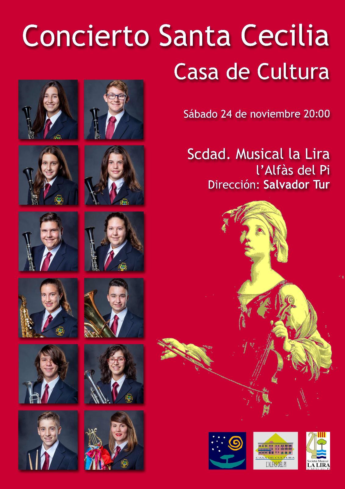 Una docena de jóvenes se incorporan a la La Lira este sábado en el concierto de Santa Cecilia
