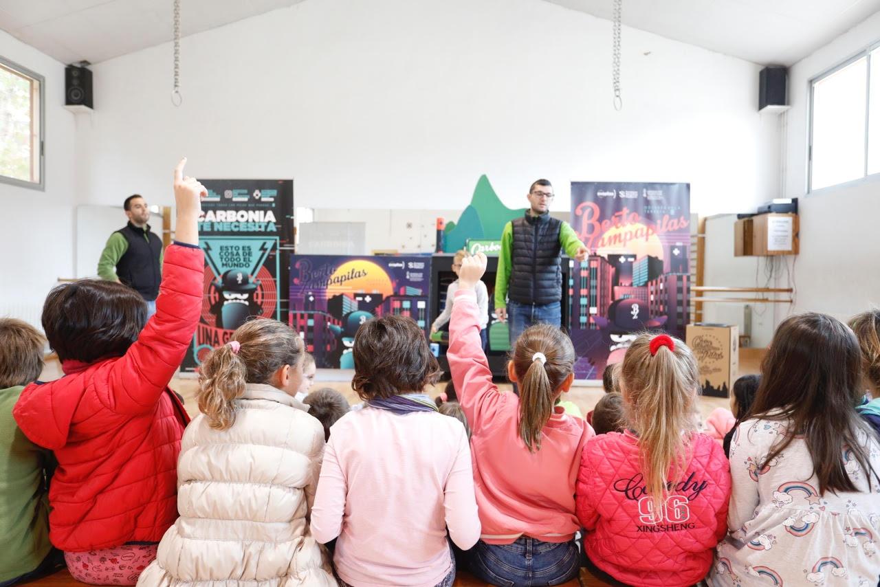 Los colegios de l'Alfàs participan en la campaña de la Generalitat Berto Zampapilas