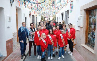 Las calles Baldons y El Gall participan en el concurso de engalanamiento convocado por Fiestas