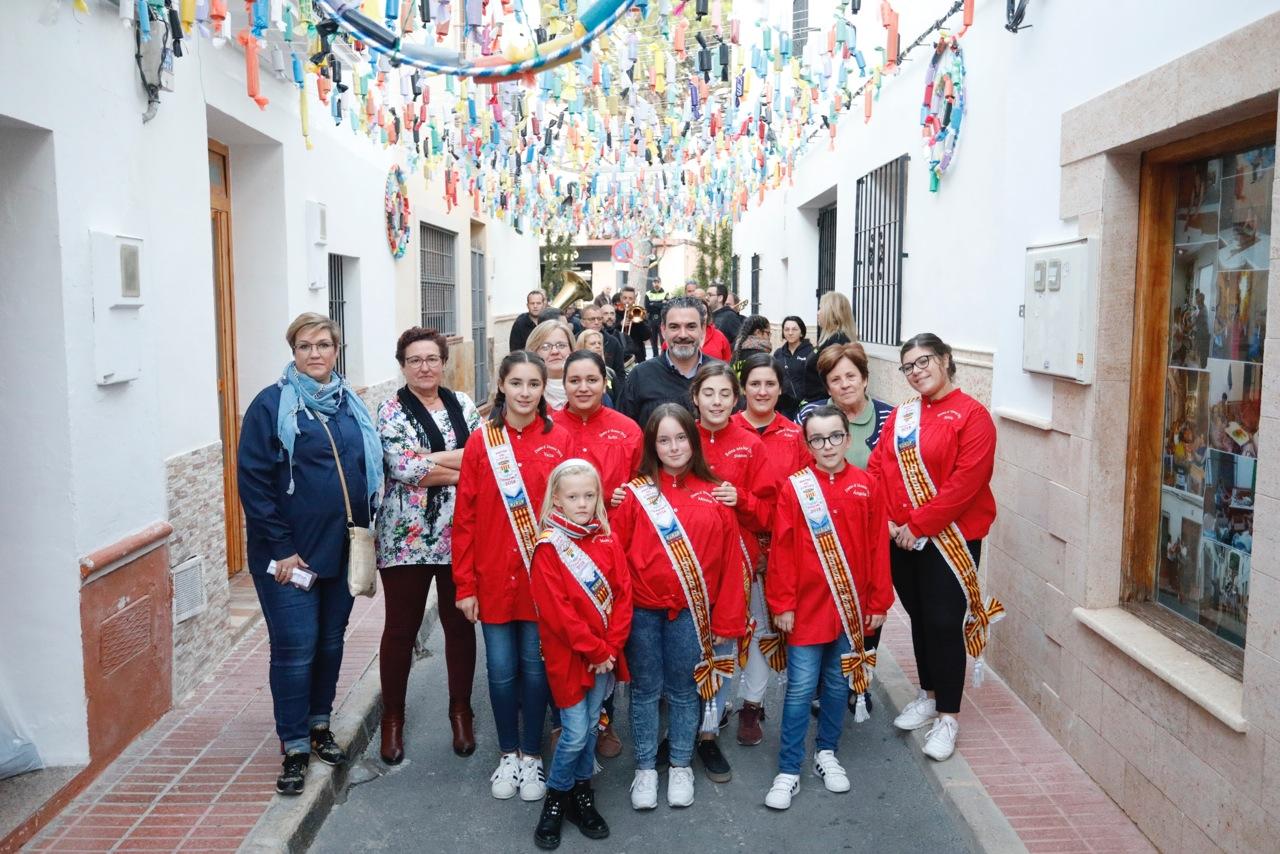 Las calles Baldons y Gall participan en el concurso de engalanamiento convocado por Fiestas