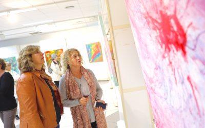 ArtAvant 'mancha' la Casa de Cultura con su nueva exposición
