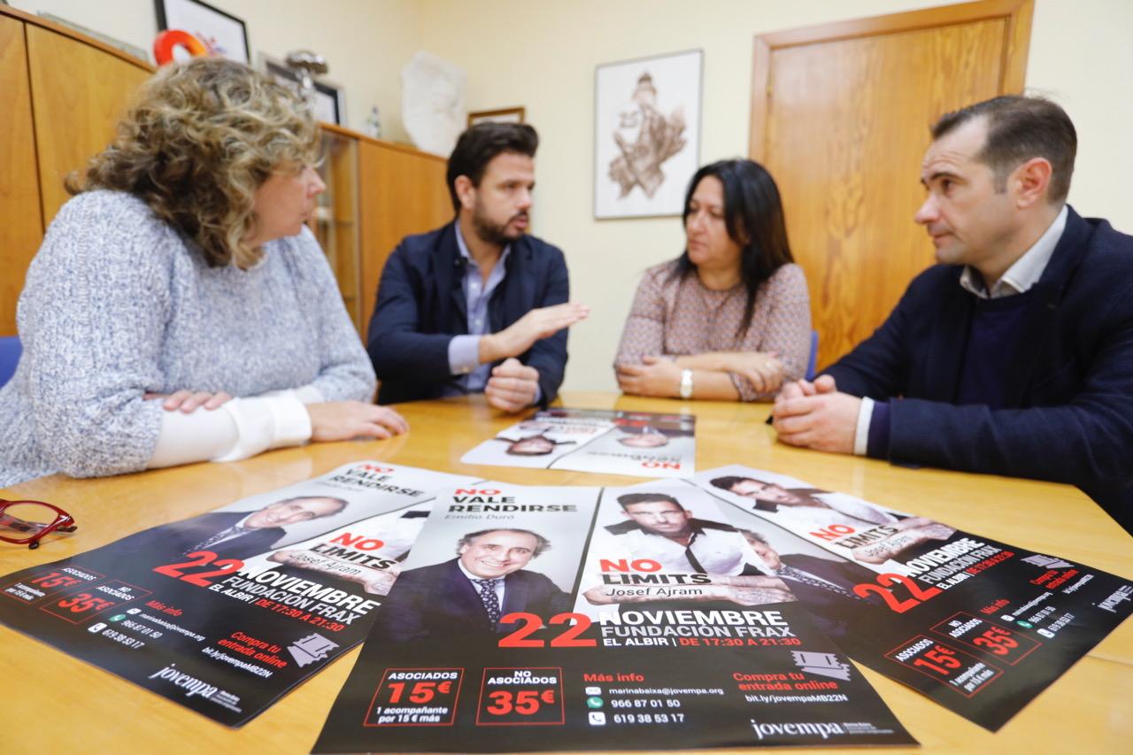 Emilio Duró y Josef Ajram hablarán sobre sus experiencias en la Fundación Frax