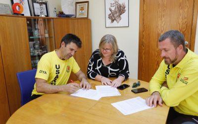 El Ayuntamiento y USAR 13 renuevan su convenio de colaboración