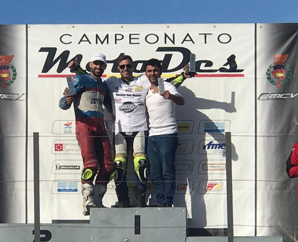 El piloto Jorge Berenguer es, de nuevo,  campeón de  motociclismo de la Comunidad Valenciana.